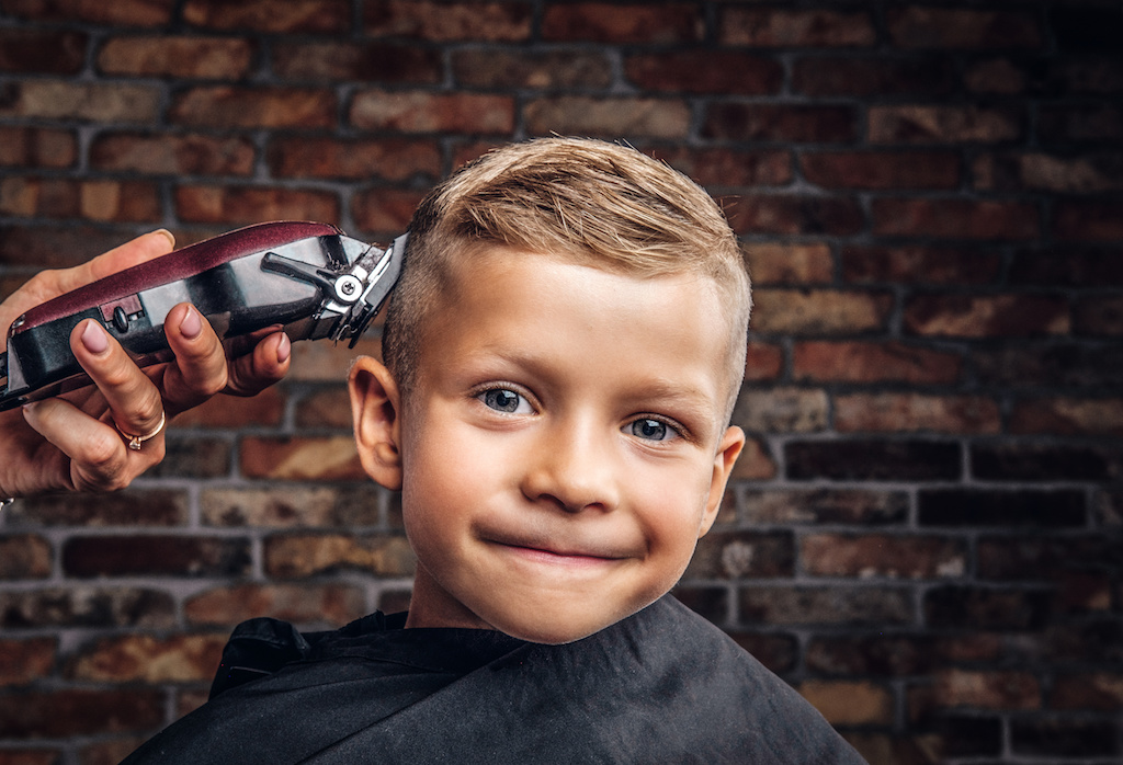 Getting Your Shy Child Used to Hair Salons